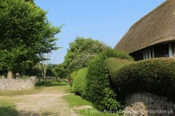 Path between St. Andrew's Church and Alfriston Clergy House, Alfriston