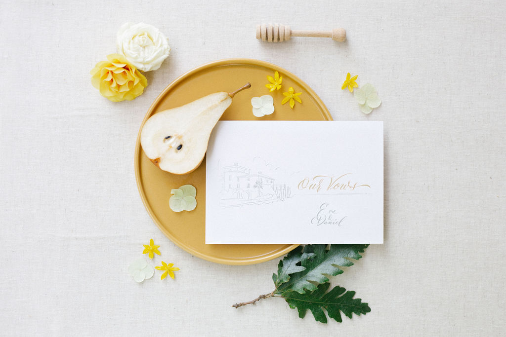 wedding invitations calligraphy