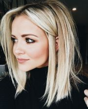 stunning medium length hairstyles