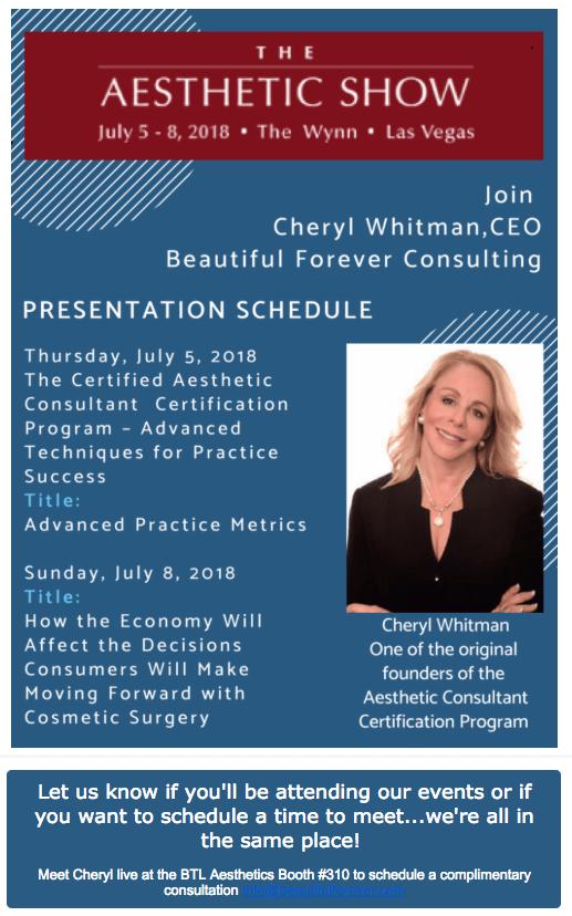 Cheryl Whitman Las Vegas Presentation