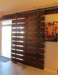 Modern Take on the Barn Door Look