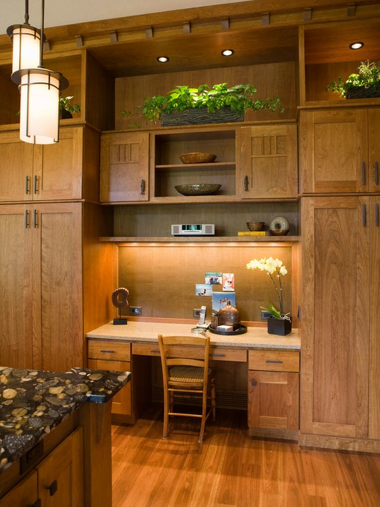Love it or Leave it  The Builtin Kitchen Desk
