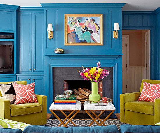 Love it or Leave it  Lacquered Wood Paneling in Bold Hues