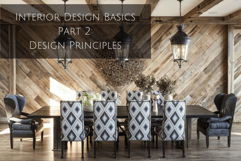 Interior Design Basics Part 2 Interior Design Principles  Denver Interior Design  Beautiful