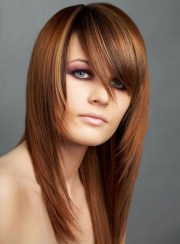 long hairstyles with bangs beautiful
