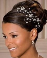 black wedding hairstyles beautiful
