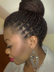box braids hairstyles beautiful