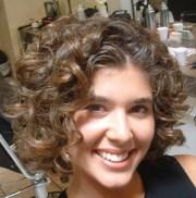 curly bob hairstyles beautiful