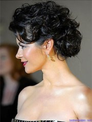 curly updo hairstyles beautiful