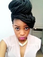 box braids hairstyles beautiful