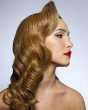 vintage-frisuren lange haare