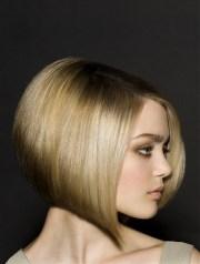 angled bob hairstyles beautiful