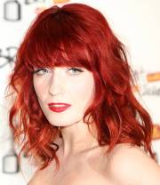 red hairstyles beautiful