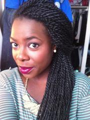 senegalese twist hairstyles beautiful