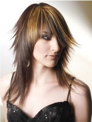 long choppy hairstyles beautiful