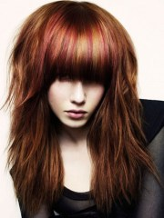 choppy layered hairstyles beautiful