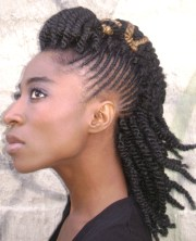 natural twist hairstyles beautiful