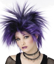 punk rock hairstyles beautiful
