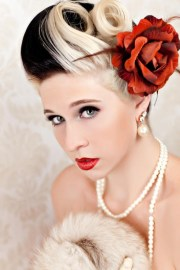 retro hairstyles beautiful