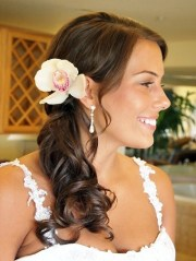 side ponytail hairstyles beautiful