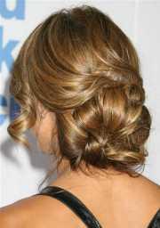 chignon hairstyles beautiful