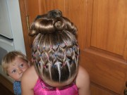 gymnastics hairstyles beautiful
