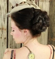 steampunk hairstyles beautiful