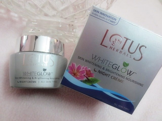 Lotus Night Cream Review