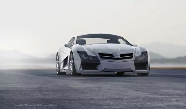 SF1 Mercedes Benz Concept Car