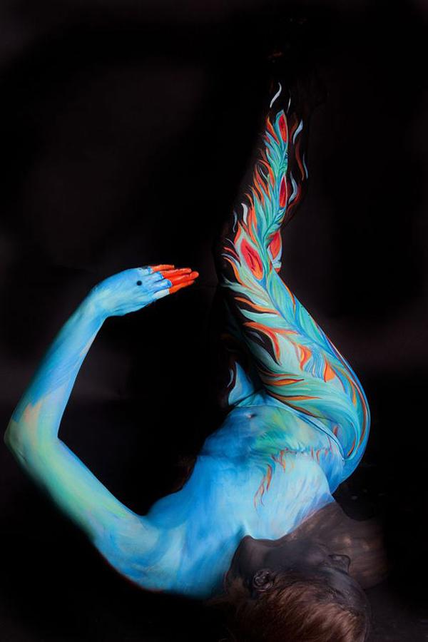 beautiful body art