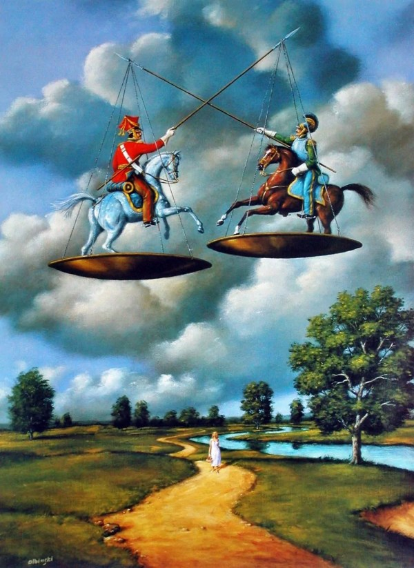 Surrealist Art Of Rafal Olbinski