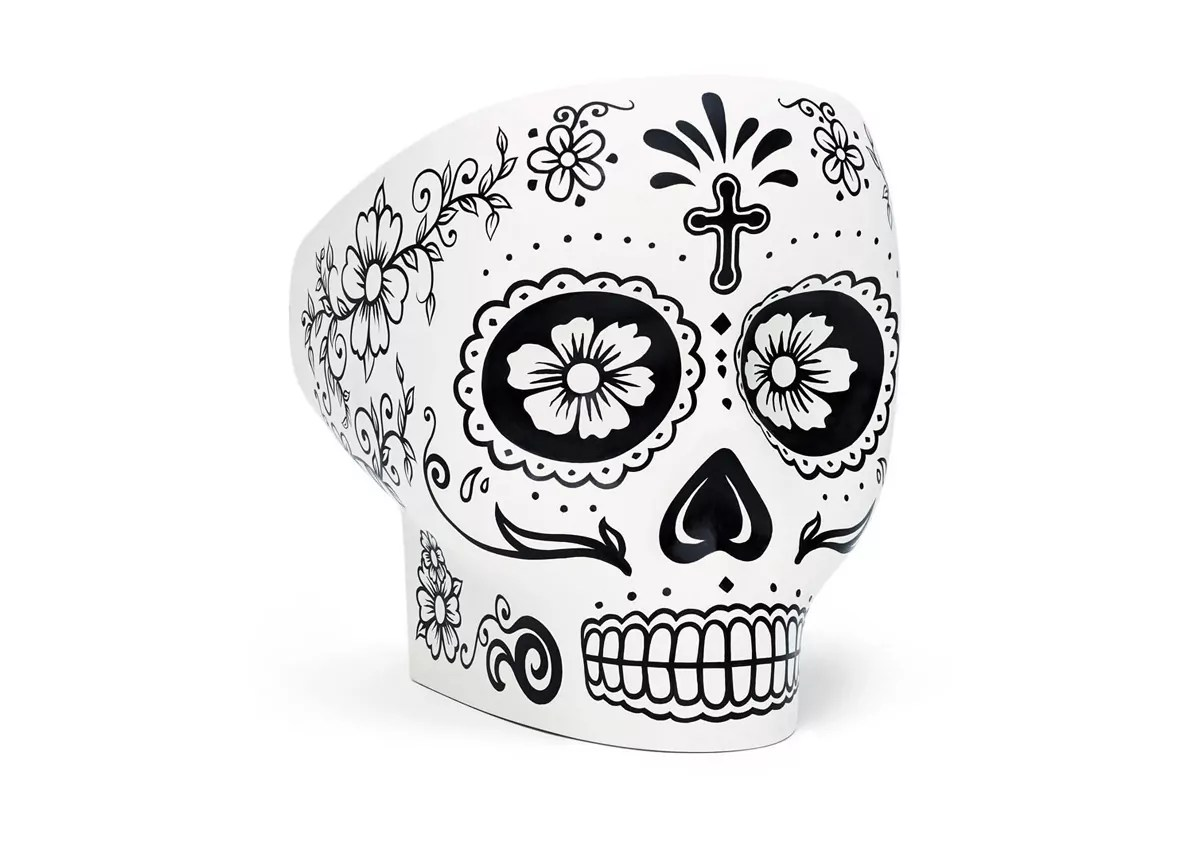 skull chair high top table with 6 chairs fabio novembre 39s updated for mexico day of