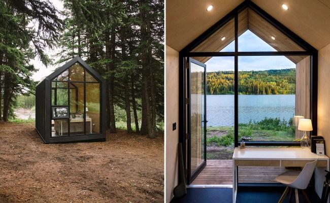 Mono Cabin Minimalist Tiny House Prefab