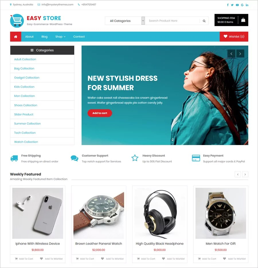 1 to 12 of 48 free ecommerce website templates available on the free css site. 30 Free Online Shopping Cart Website Templates Free Download With Css