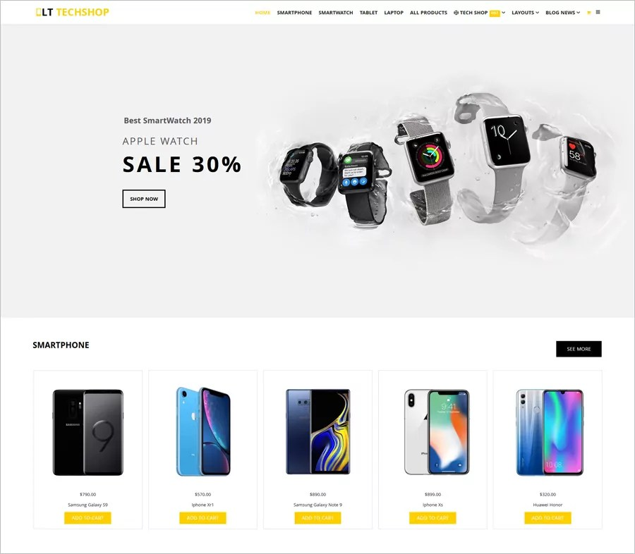 Demo view for each shopping cart themes design is realized on the. 30 Free Online Shopping Cart Website Templates Free Download With Css