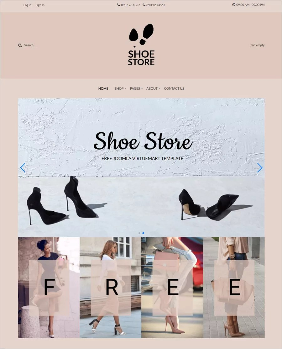 A template that allows for featured product images. 30 Free Online Shopping Cart Website Templates Free Download With Css