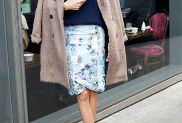 I love wearing skirts, as the weather gets colder, we did a little research to find five simple ways to take this spring and summer staple well into autumn.