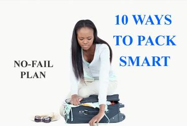 If you need some tips on packing your suitcase, taking advantage of every inch of space, and keeping it all organized, I have 10 pack smart tips for you!