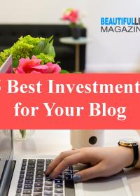 I want to share with you the 5 things you should consider investing in for your blog if you are ready to take that crucial step with some good investment