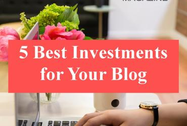 I want to share with you the 5 things you should consider investing in for your blog if you are ready to take that crucial step with some good investments.