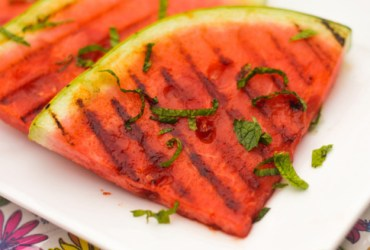 A conversation starter if there ever was one, this spicy grilled watermelon challenges an ingrained perception of what watermelon should be.