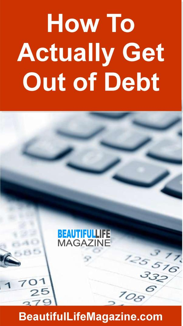 Debt is a real thing, and often times it can feel easier to just simply plug along rather than actually develop a real strategy for how to get out of debt.