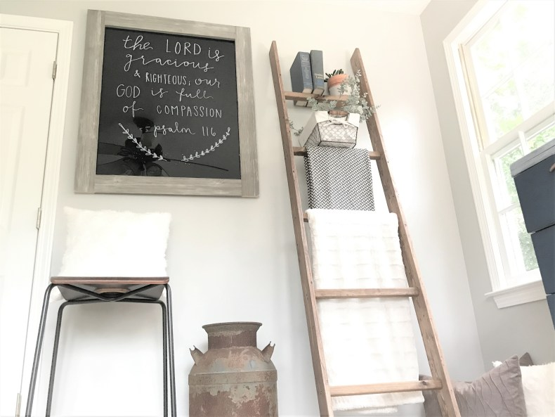 Rustic DIY Wet Erase Chalkboard