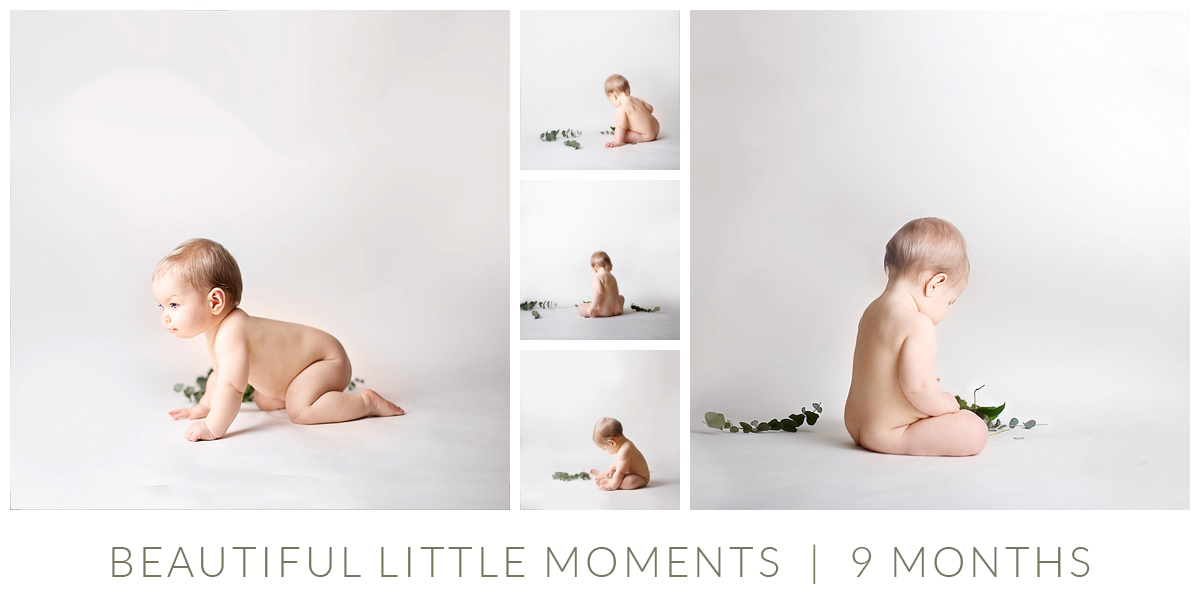 9 month baby photography milestone surrey