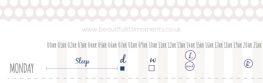 beautifullittlemoments-sample-schedule