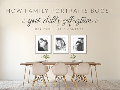 How family portraits boost your child's self esteem