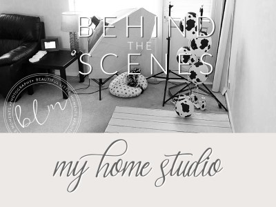 Behind the scenes – my home studio