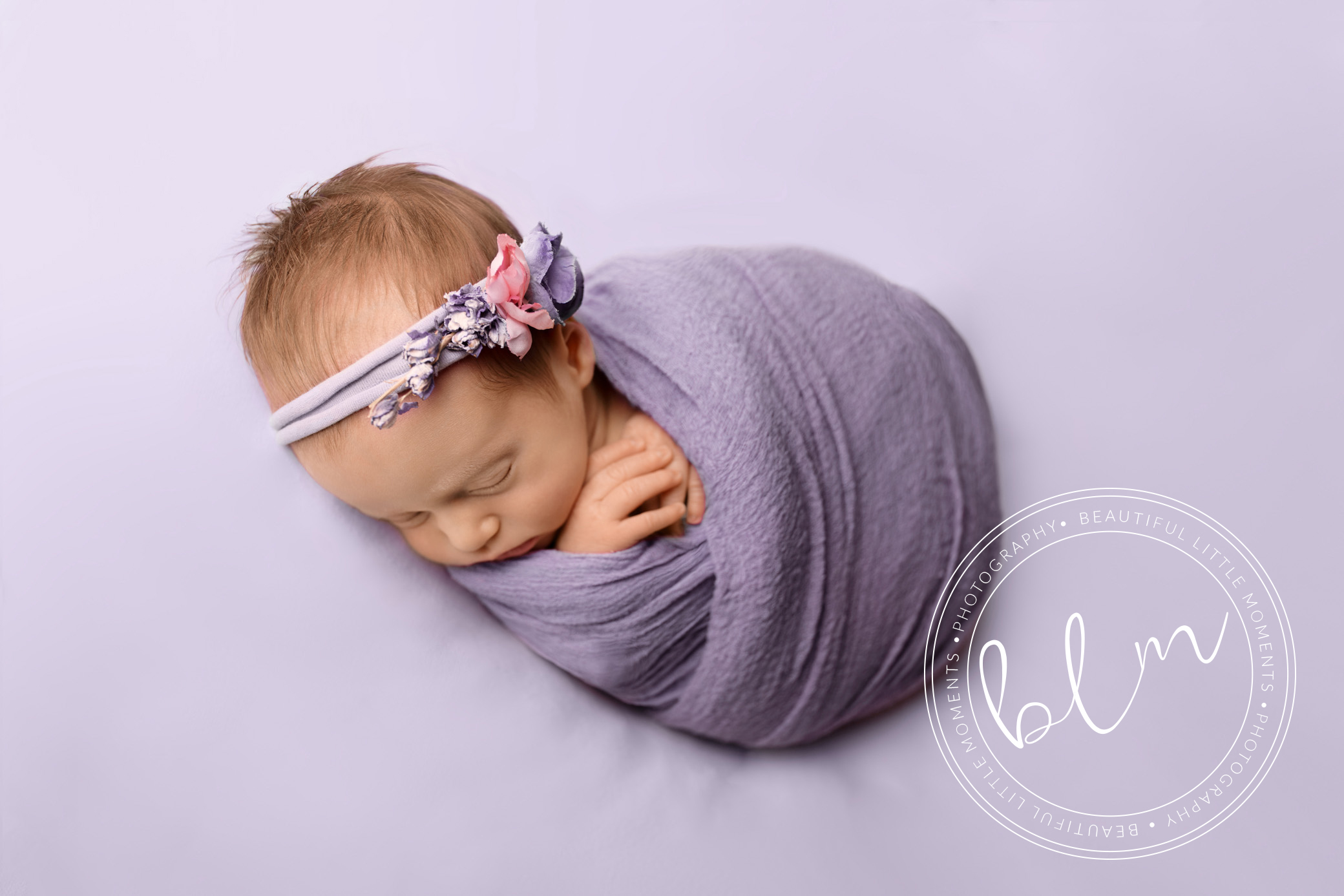 posed baby in studio photography epsom