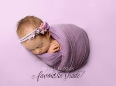 which is your favourite shade for newborn photos
