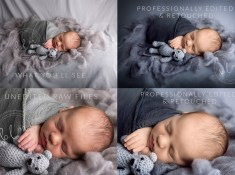 professionally edited and retouched images of newborn epsom